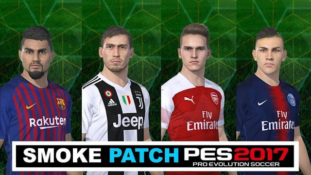 Option File Update For Smoke Patch V10 3 7 - PES 2018