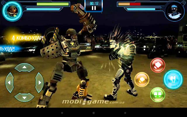 real steel world robot boxing apk+data