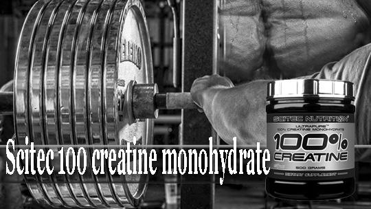 Най-етиния креатин монохидрат Scitec 100 creatine monohydrate