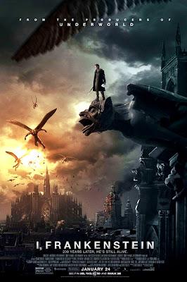 Poster oficial I, Frankenstein