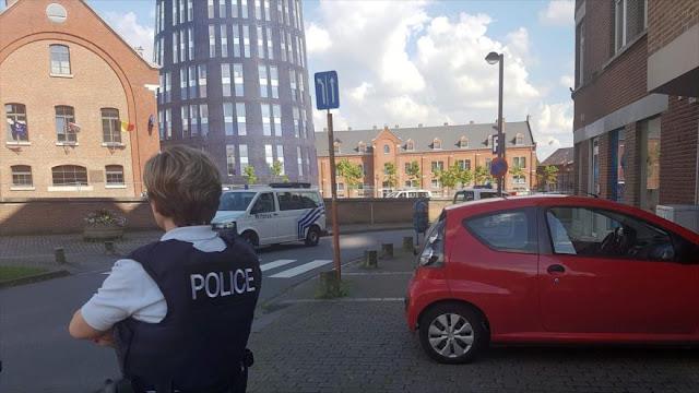 Terrorista de Daesh ataca con un machete a una comisaría en Bélgica