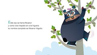 Ilustracion e oso nicanor CANAM
