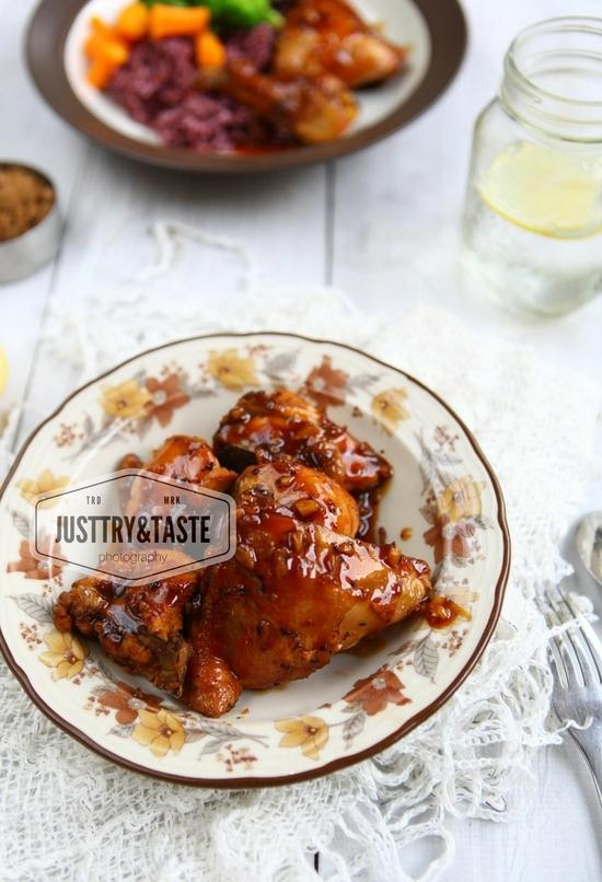 Resep Garlic Chicken dengan Saus Brown Sugar