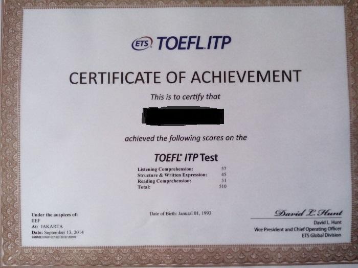 Toeflsnack Toefl Itp Toefl Pbt