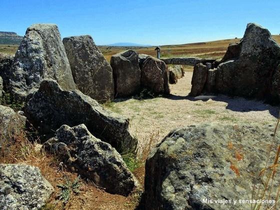 El dolmen de Cubillejo de Lara, Tierra de Lara, Burgos