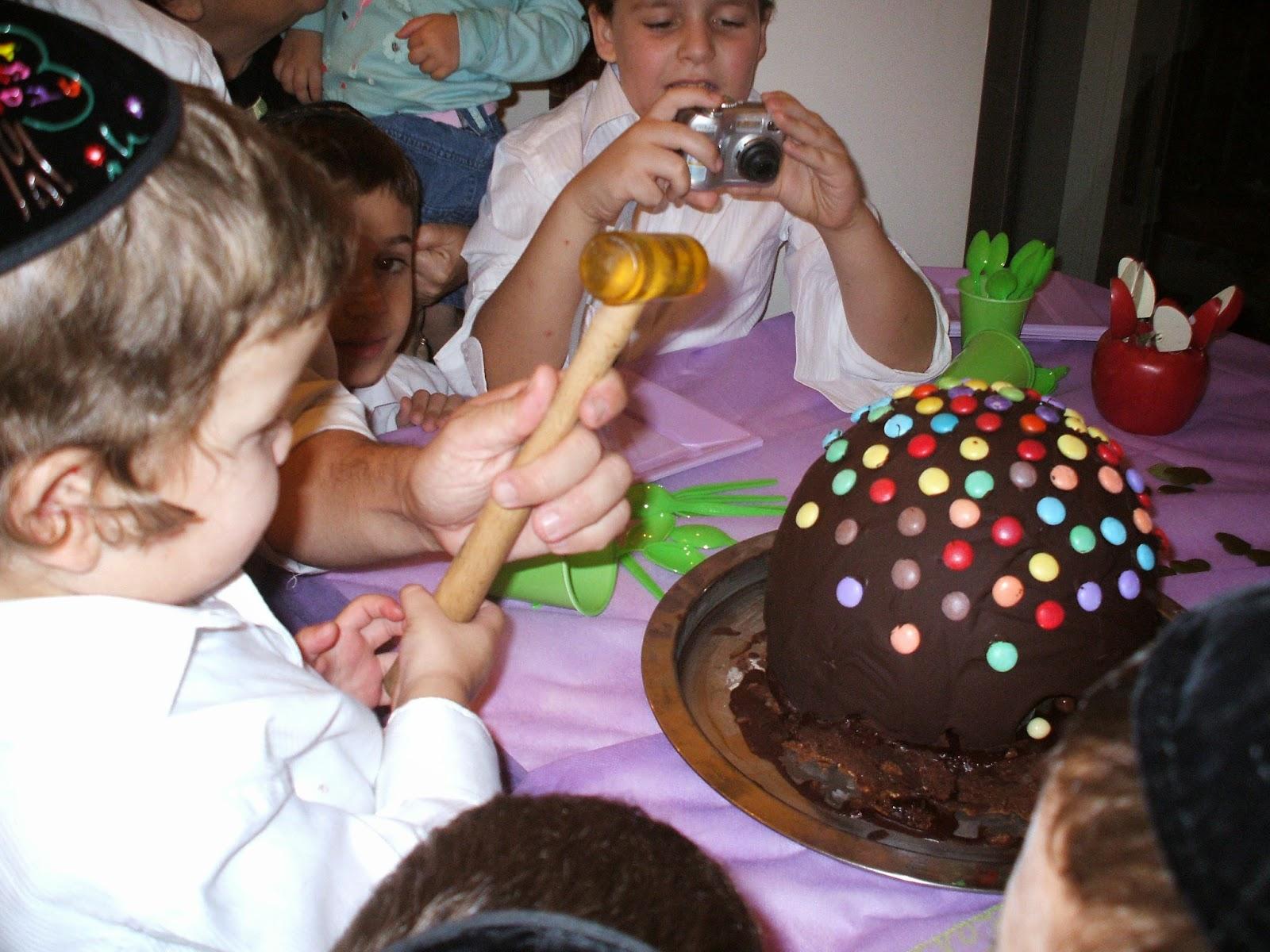 DSCF1226 - עוגה עם הפתעה בפנים