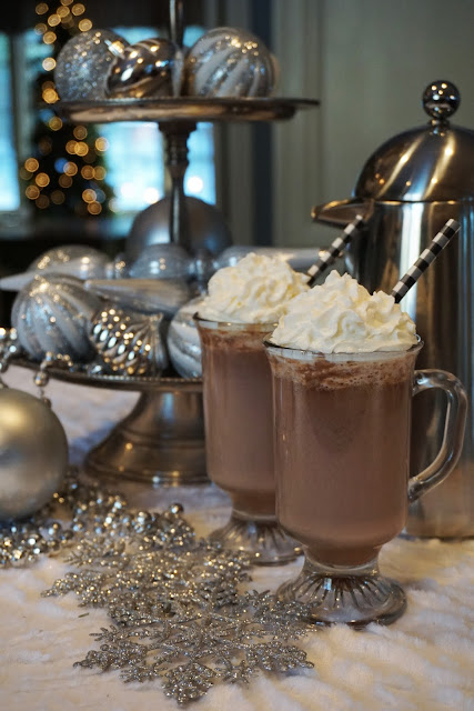 Hazelnut White Hot Chocolate