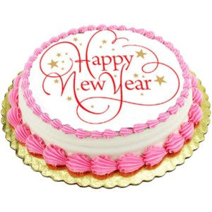 Beautiful Happy New Year cake
