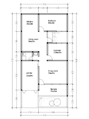 House Plans 8x16 House Affair