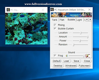 PC Aquarium Deluxe 3.0 Screen Saver(Screen Savers as like Live Desktop) with Serial key Included crack