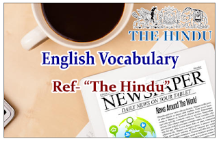"English Vocabulary (Synonyms-Antonyms-Usage) Reference- ""The Hindu"""