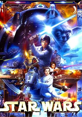 Poster aniversar Star Wars
