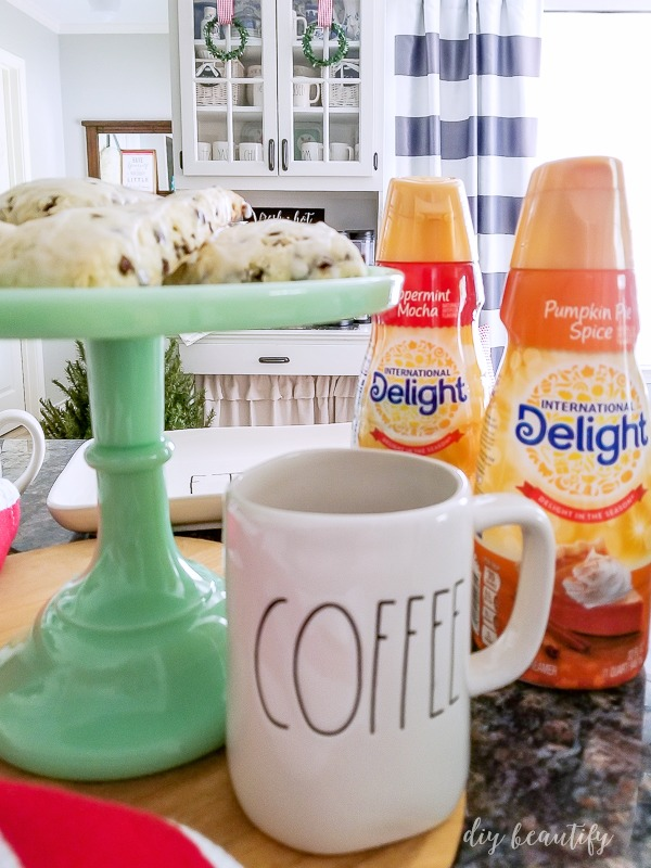 use flavored coffee creamers in baking