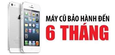 Chế độ bảo hành hấp dẫn cho điện thoại iphone 5 quốc tế cũ