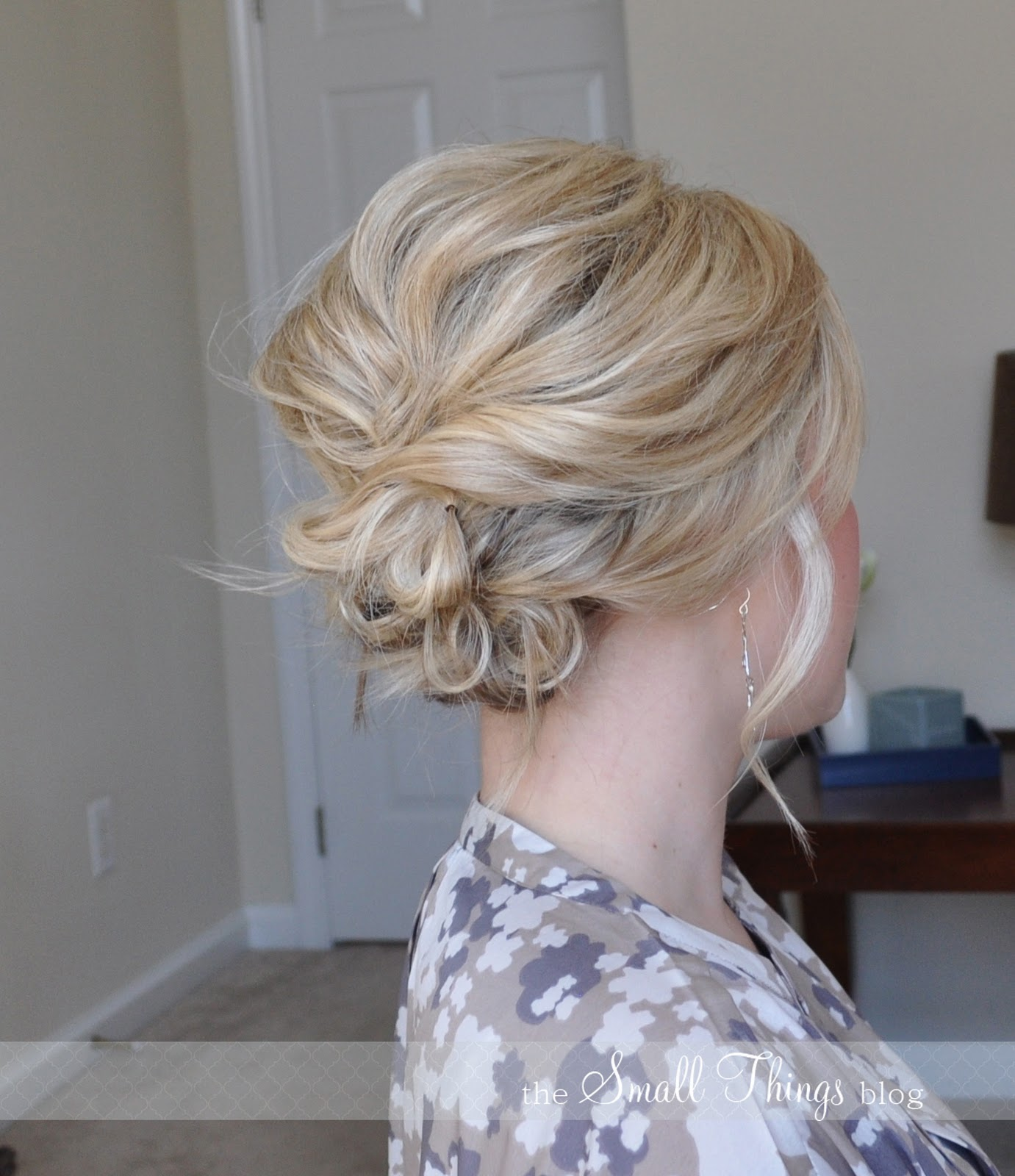 Medium Length Wedding Hairstyles: The Small Things Blog