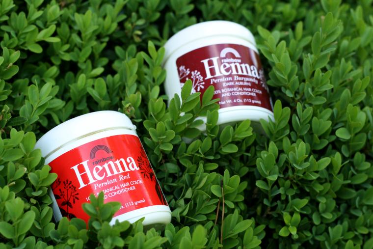 henna dye review process