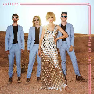 Avec leur premier album When We Land, les 4 britanniques d'Anteros nous offrent un son so british