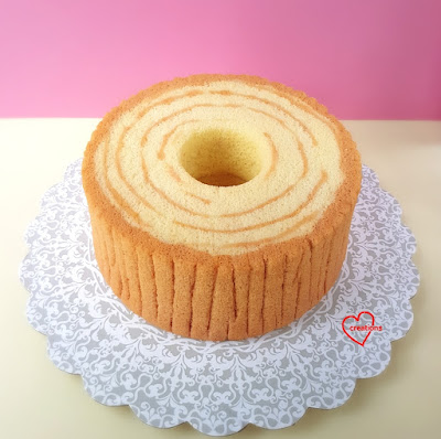 Loving Creations for You Woodlands animals Wooden Stump Chiffon Cake