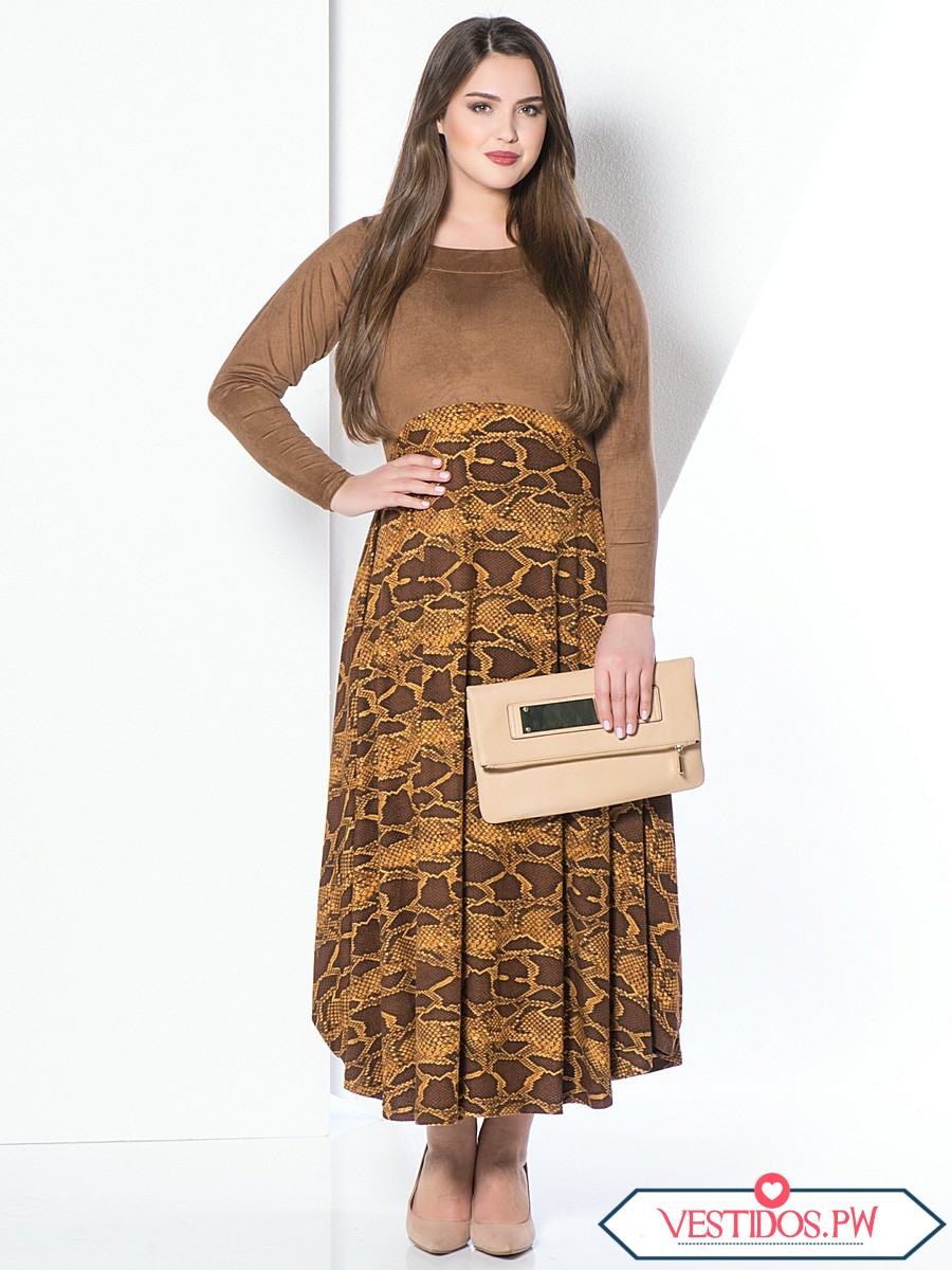 Modas d vestidos para gorditas