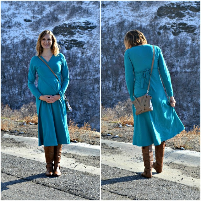 Me Made: Maternity Wrap Dress