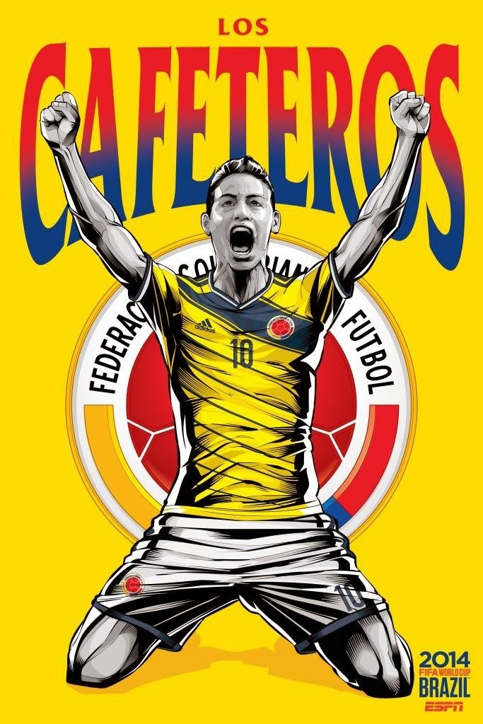 Colombia Team FIFA 2014