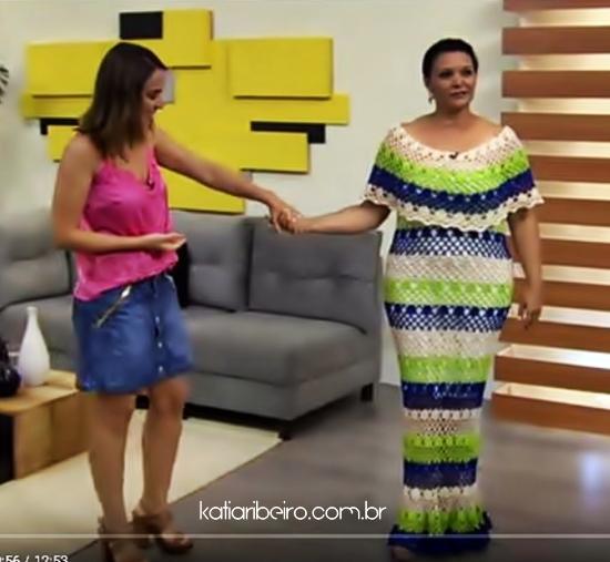vestido em crochê Noemi Fonseca