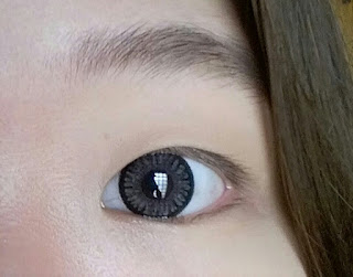 Softlens new look playful warna grey