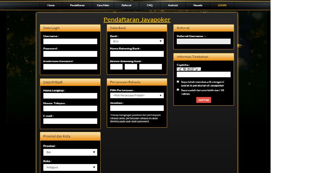 Jayapoker Website Resmi Poker Online Indonesia: Cara
