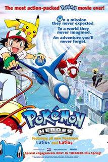 Pokémon 5: Heroes – DVDRIP LATINO