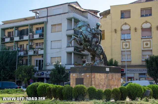 Monument - Veles city - Macedonia