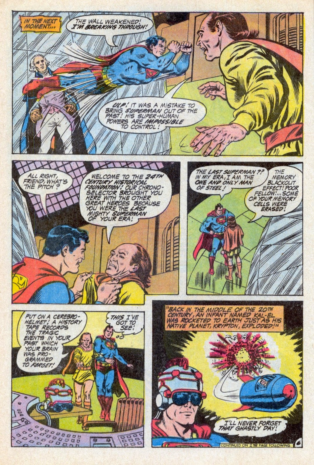 The Bronze Age Of Blogs: Superman Annual No 1