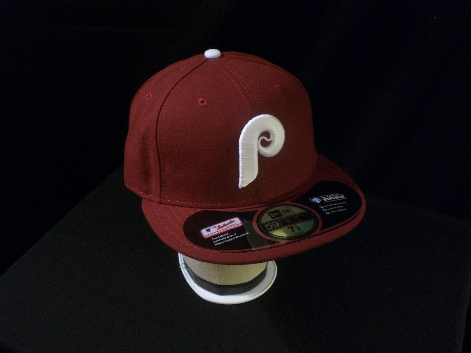 be5a96e3ece This Phillies cap is a base maroon which is a nice throwback and a great  colour match to the originals which were worn from 1970 up until the 1991  season ...
