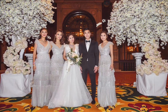 Gillian Cheung Wedding Entourage 2018