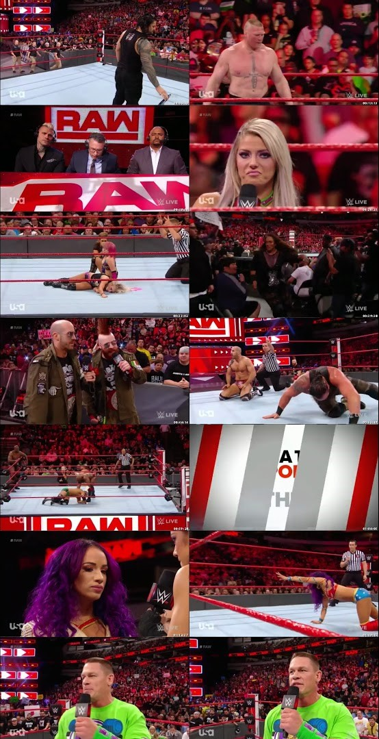 WWE Monday Night Raw 19th March 2018 480p 500MB HDTVRip
