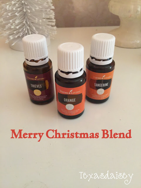 Merry Christmas Essential Oil Blend with Young Living Essential Oils
