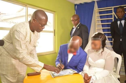 Photos: Repentant sex worker weds in Port Harcourt, Rivers State
