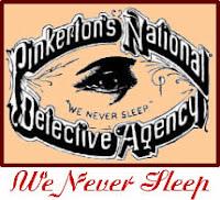 Logo der Pinkerton Agentur