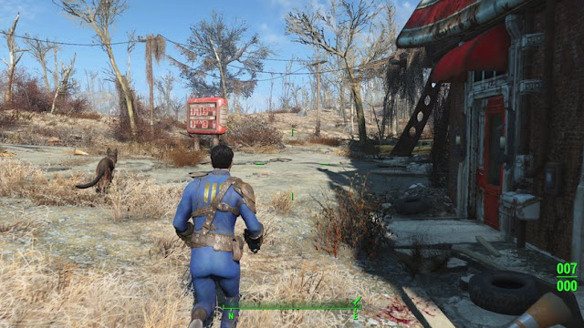 Fallout 4 Game Play Screen Shots