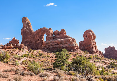 拱門國家公園, Arches National Park, Windows Section, Turret Arch