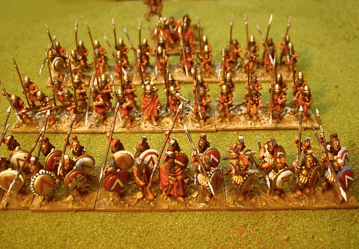 Painting Lead and other stuff : 28mm Ancient Spartan Greek Army