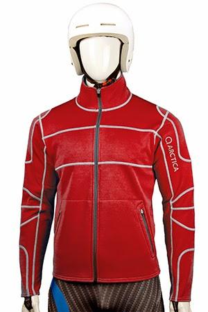 arctica race layer fleece red image