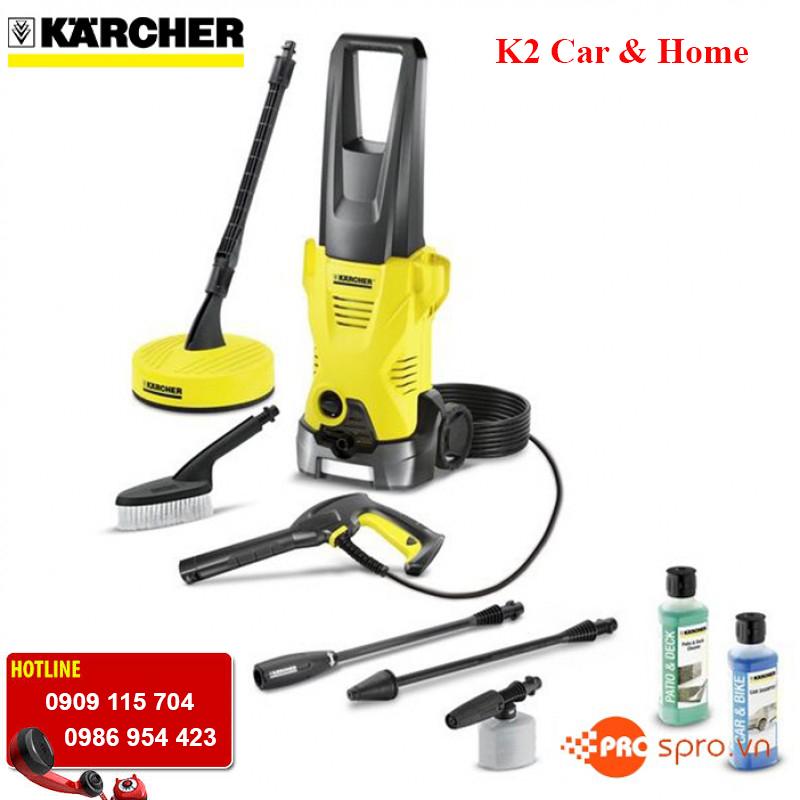 Máy rửa xe gia đình KARCHER K2 Car & Home giá rẻ