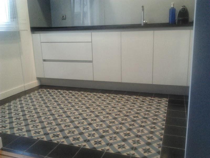 Deco suelo hidr ulico para mi cocina in my kitchen - Suelos para cocinas ...