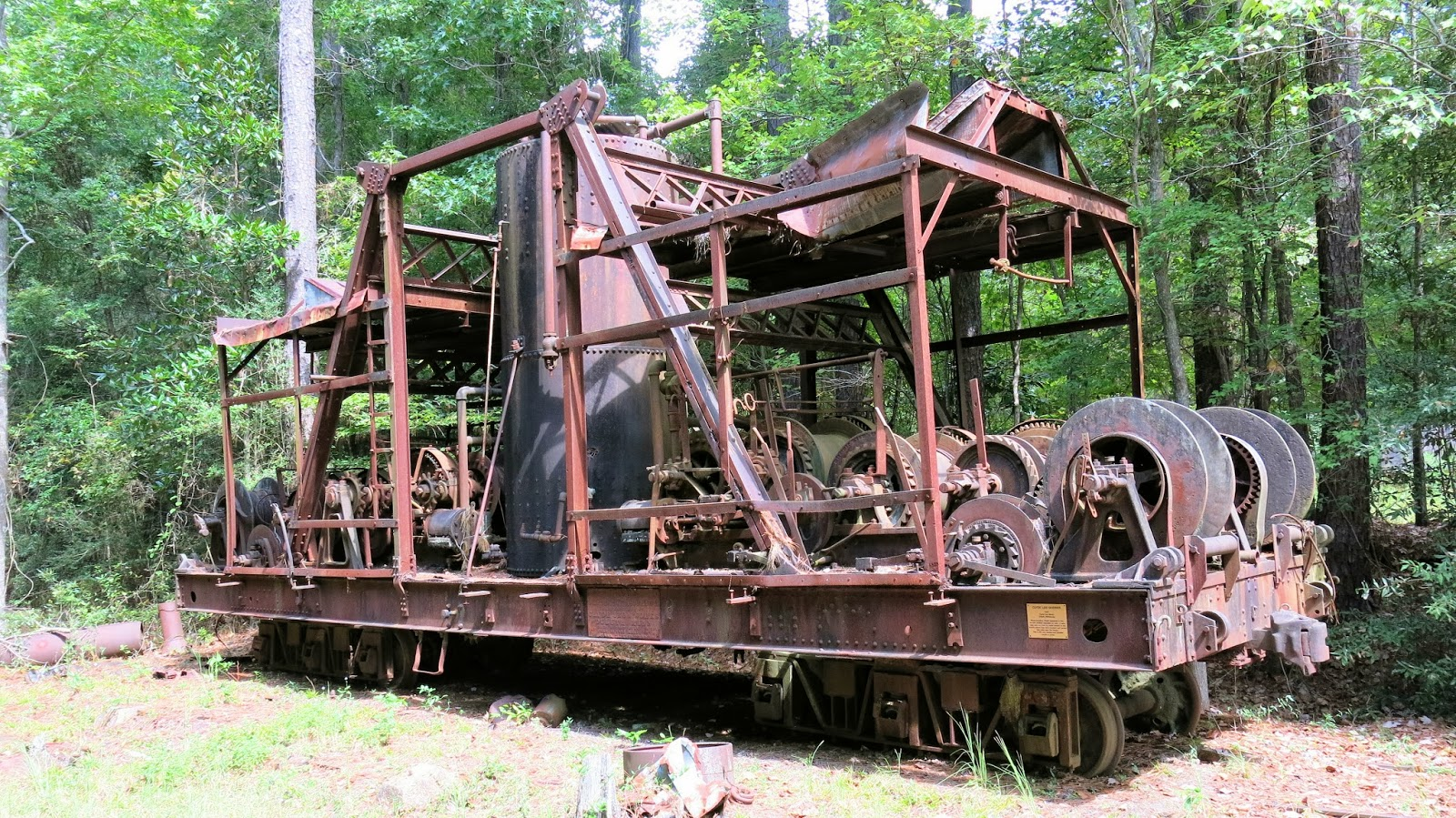 Geared Steam Southern Forest Heritage Museum Updated
