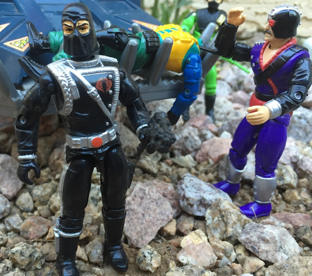1993 Cobra Commander, Battle Corps, 1994, Major Bludd, Beach Head, Detonator