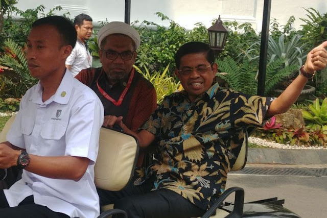 Mendadak Temui Jokowi, Idrus Marham Mundur dari Mensos?