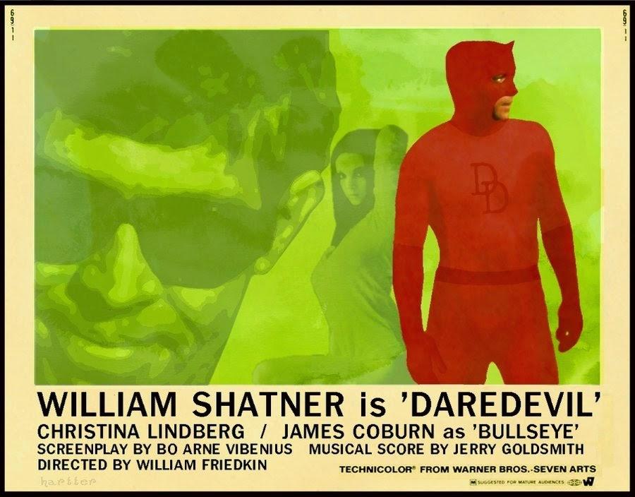 William Shatner Is Daredevil
