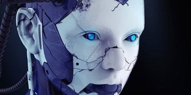 cyborg humano mitad robot mitad hombre