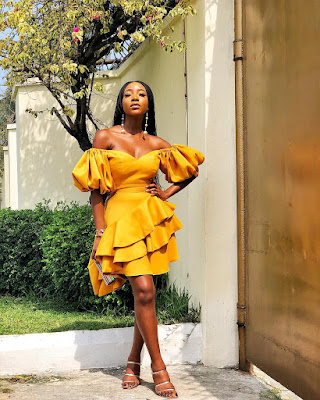 Ini Dima Okojie fashion and style looks