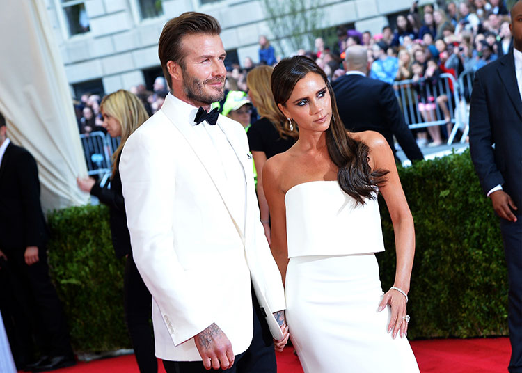 David Beckham Victoria bechkam happy with life
